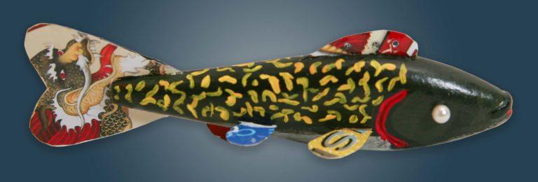 Fish Decoy Folk Art