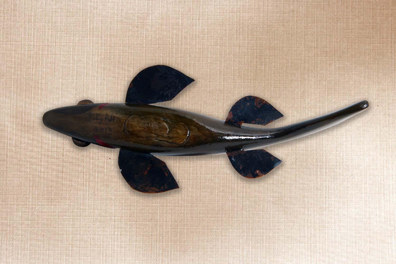 Bass Folk Art Fish Decoy