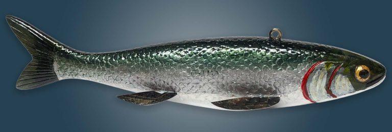 Cisco Folk Art Fish Decoy