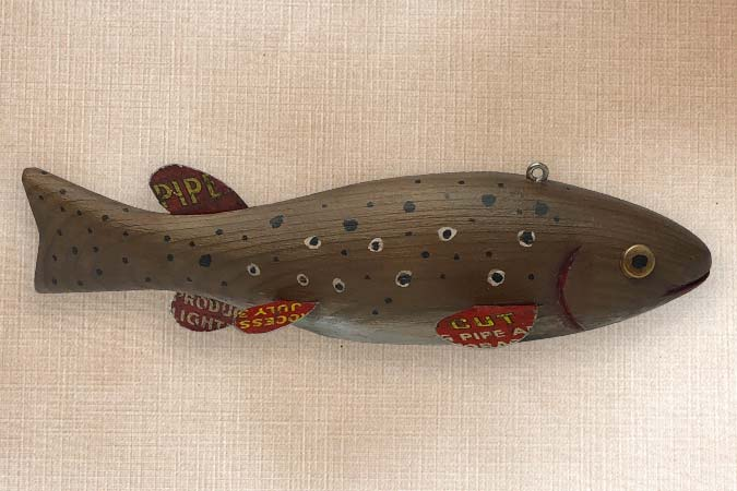 Bakes wood carving patterns trout