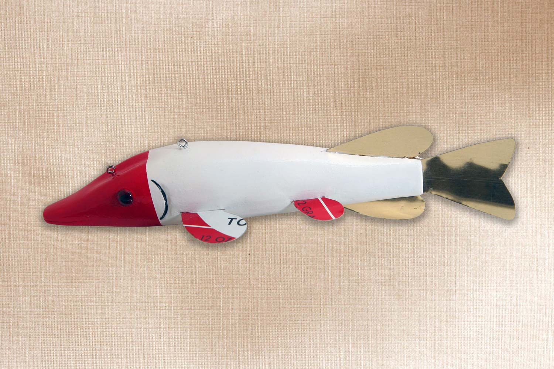 Northern Fish Decoy Folk Art